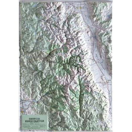 - hubbard scientific raised relief map 418 sequoia-kings canyon national park