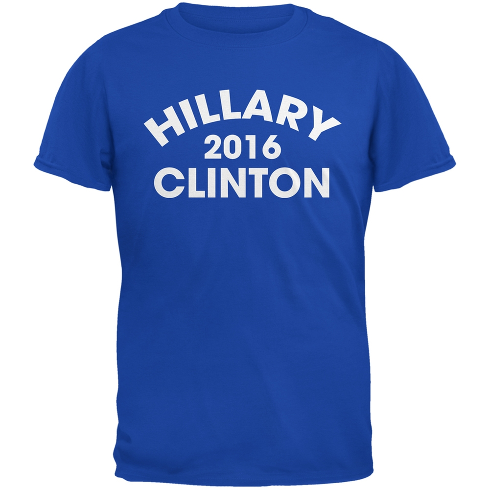 Election 2016 - Hillary Clinton Varsity Royal Adult T-Shirt