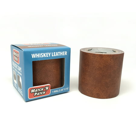 Match 'N Patch Whiskey Leather Repair Tape, 2.25 in. x 15 ft (Leather Tape)