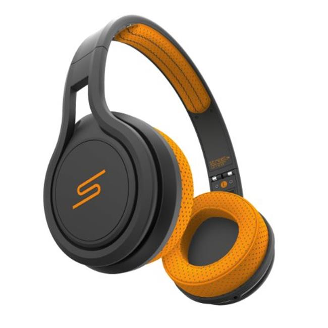 SMS Audio SMS-ONWD-SPRT-ORG On-Ear Wired Sport Headphones, Orange