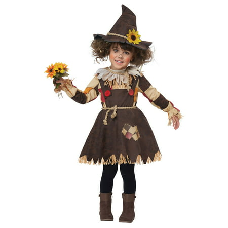 Pumpkin Patch Scarecrow Child Costume - Scarecrow Girl Costume