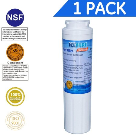 Icepure RWF0900A Refrigerator Water Filter Compatible with Maytag UKF8