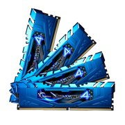 G.SKILL F4-3000C15Q-16GRBB Ripjaws 4 Series 16GB (4 x 4GB) 288-Pin DDR4 SDRAM DDR4 3000 (PC4 24000) Memory Kit
