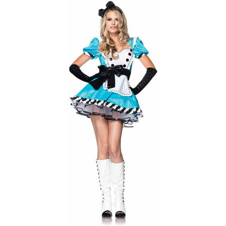 Leg Avenue 2-Piece Charming Alice Adult Halloween - Dark Alice Halloween Costume