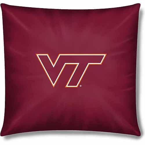"""NCAA Virginia Tech Hokies Official 15"""" Toss Pillow"""