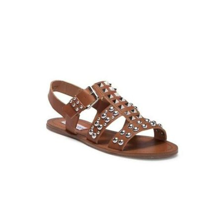 88fc63aa1f08 Steve Madden Womens Sharon Leather Open Toe Casual Slingback - image 2 of 2  ...