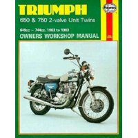 Owners' Workshop Manual: Triumph 650 and 750 2-Valve Twins Owners Workshop Manual, No. 122: '63-'83 (Paperback)