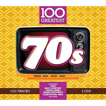 100 Greatest 70s / Various (CD) - Disco In The 70s