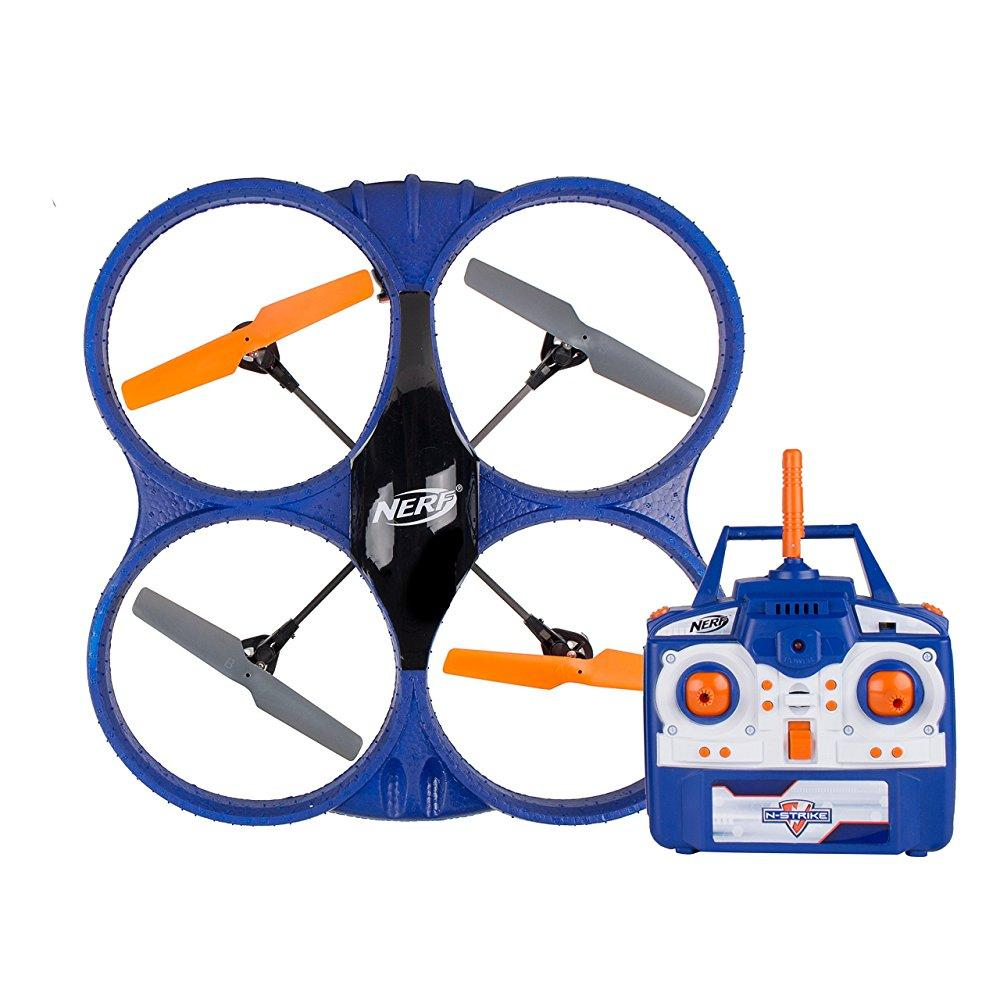 Nerf Wi-Fi Streaming Video Drone with 16.1 MP Camera, Black by Sakar