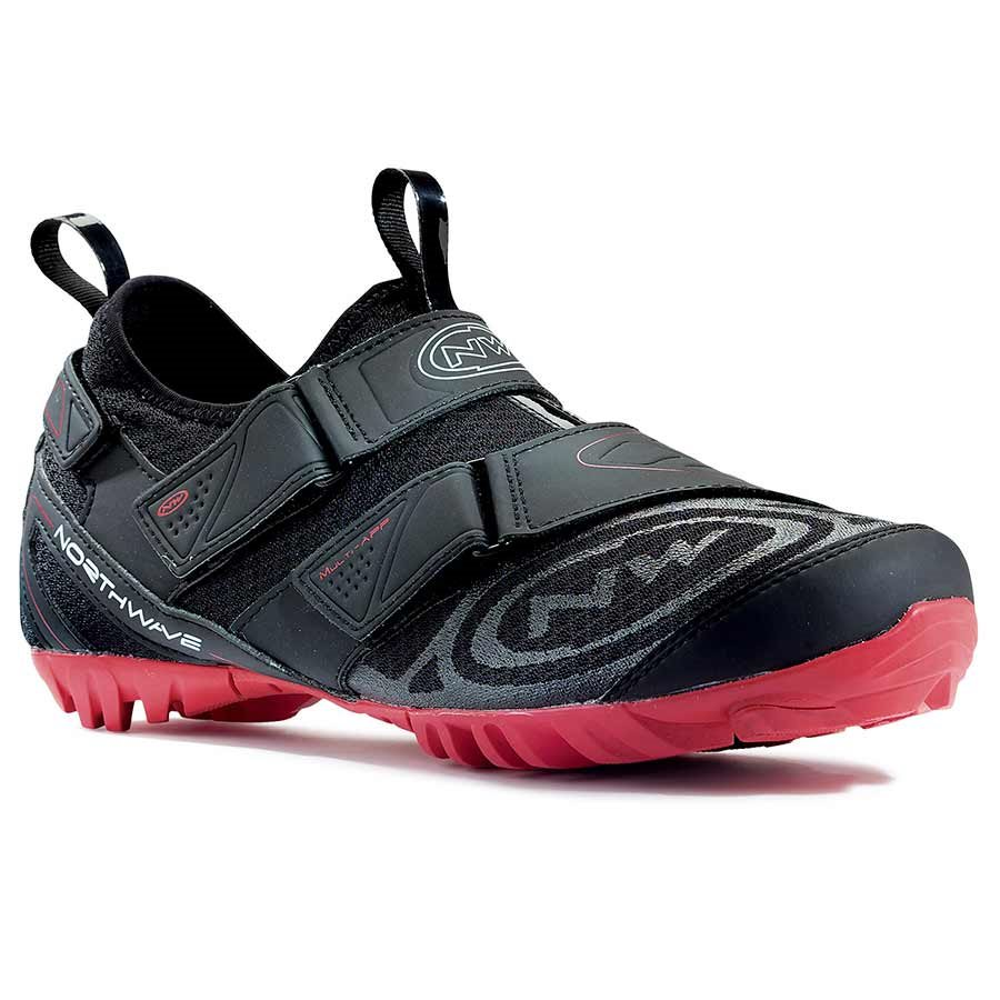 Northwave, Multi App, Recreational shoes, Black/Red, 39