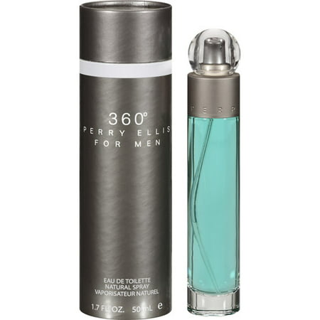 Perry Ellis 360 Eau De Toilette for Men, 1.7 oz