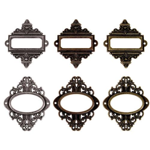 Advantus Tim Holtz Idea-Ology Ornate Book Plates