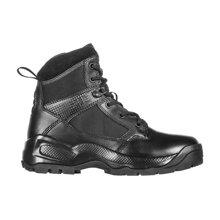 5.11 Tactical Women's A.T.A.C. 2.0 6-Inch Side Zip Military Combat Boots, Style 12404, Black, 7.5 Regular thumbnail