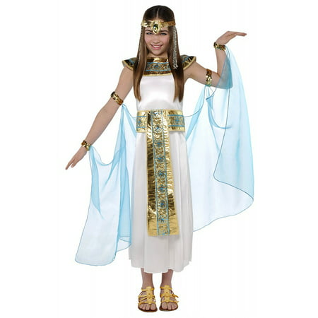 Cleopatra Child Costume - Large - Homemade Cleopatra Costume