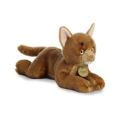 Abyssinian Cat 11 inch Miyoni - Stuffed Animal by Aurora Plush (26311)