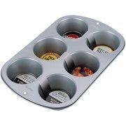 Wilton Recipe Right 6-Cavity Jumbo Muffin Pan 2105-955