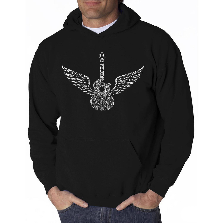 Los Angeles Pop Art Men's Hooded Sweatshirt - Amazing Grace
