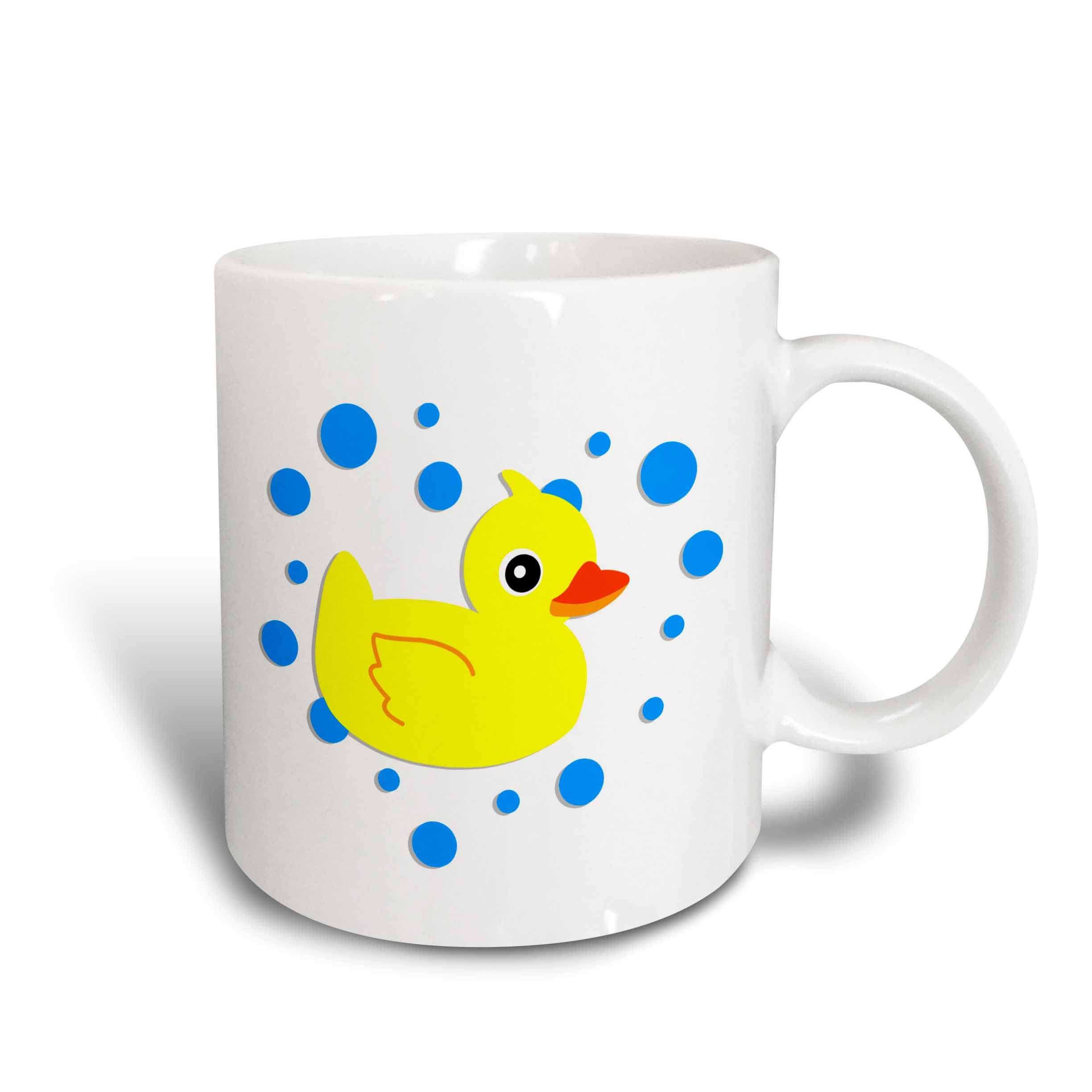 3d Rose 3drose Cute Baby Ducky Yellow Ducky, Ceramic Mug, 15 - ounce