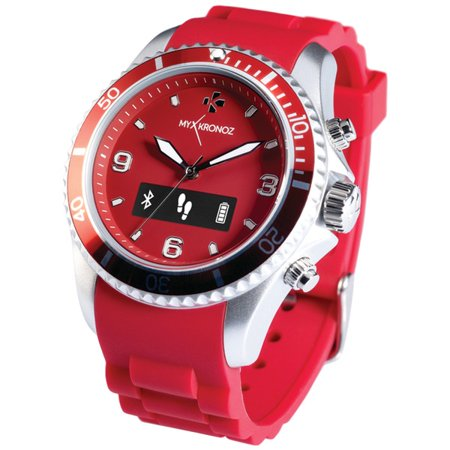 My Kronoz 813761020312 Zeclock Analog Smartwatch (red)