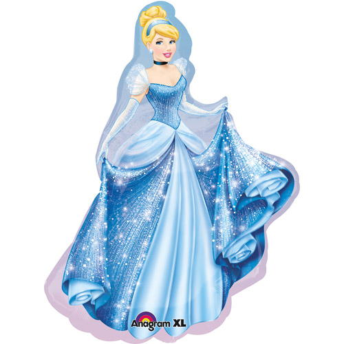 Disney Cinderella Shaped Balloon, 24""