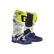 Gaerne Usa SG-12 Boots White/Blue/Yellow 14  2174-050-14