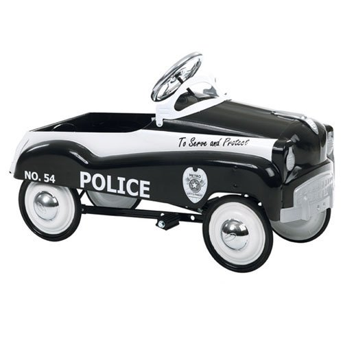 InSTEP Police Car Pedal Riding Toy