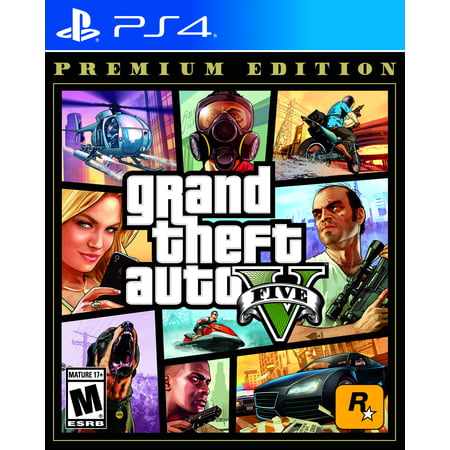 Grand Theft Auto V: Premium Edition, Rockstar Games, PlayStation 4, 710425570322
