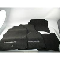 2000 2001 2002 2003 GENUINE OEM MITSUBISHI GALANT FLOOR MATS FLOORMATS GREY BLACK AGL9XF1D03