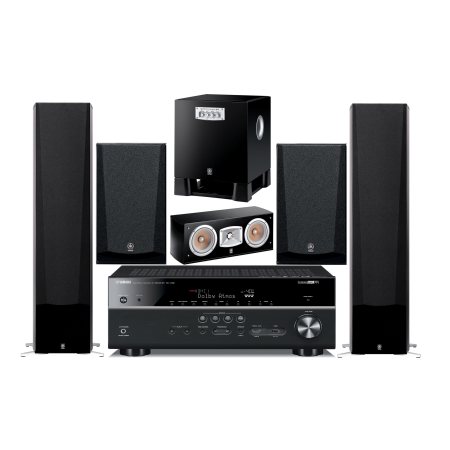 yamaha 5 1 channel wireless bluetooth 4k 3d a v surround. Black Bedroom Furniture Sets. Home Design Ideas