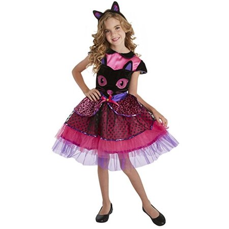 Kiss Halloween Face (Palamon Black Cat Face Halloween Girls Kids)