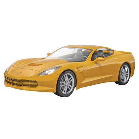 SnapTite 2014 Corvette Stingray Plastic Model Kit, Teach your child to think in 3 dimensions with this fun and easy to build 37-piece model kit, snaps together.., By Revell,USA ()