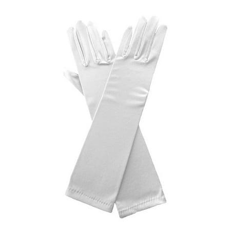 Satin Evening Gloves (Elegant Stretch Satin 15