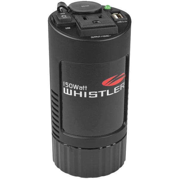 Brand New WHISTLER XP150i 150-Watt Cup Holder Power Inverter