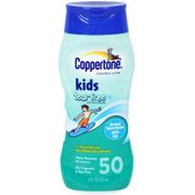 Coppertone Kids Pure & Simple Tear Free Sunscreen Lotion SPF 50 8 oz (Pack of 6)