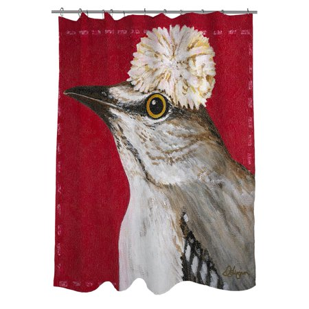 Thumbprintz You Silly Bird Gigi Shower Curtain - Walmart.com