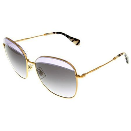 Miu Miu Sunglasses Women Opal Lilac Square MU53QS TWJ3E2 Size: Lens/ Bridge/ Temple: (Miu Miu Sizing)