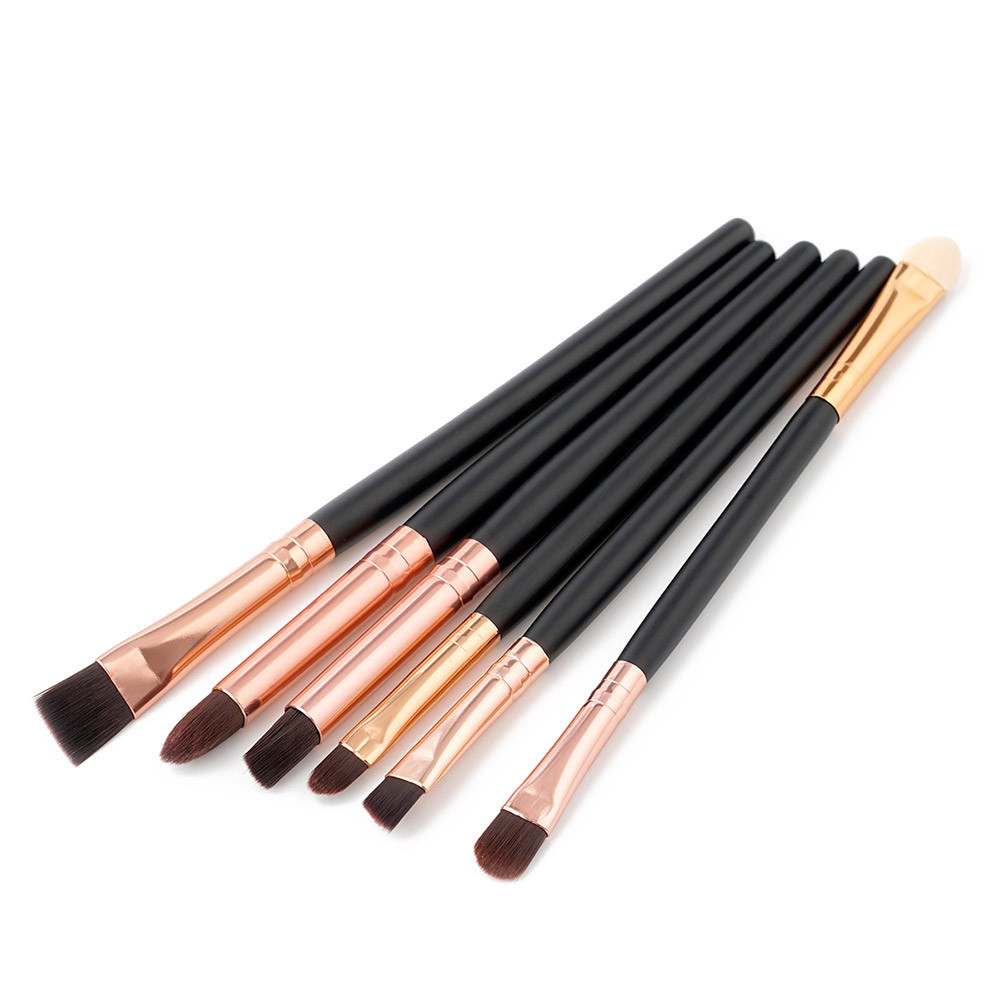 Mosunx 6PCS Cosmetic Makeup Brush Lip Makeup Brush Eyeshadow Brush