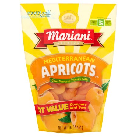Mariani, Mediterranean Apricots (Pack of 2)