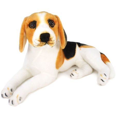 Brittany the Beagle | 17 Inch Large Beagle Dog Stuffed Animal Plush | By Tiger Tale Toys Beagle Stuffed Animals