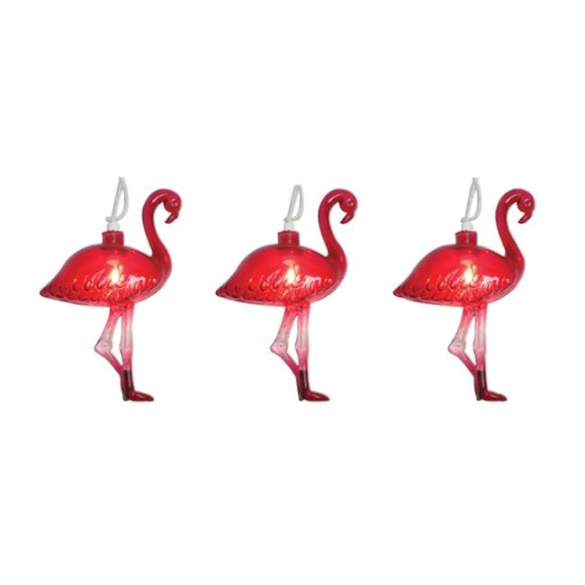 Sienna 624F614K Flamingo Covered 10 Light Set - image 1 of 1