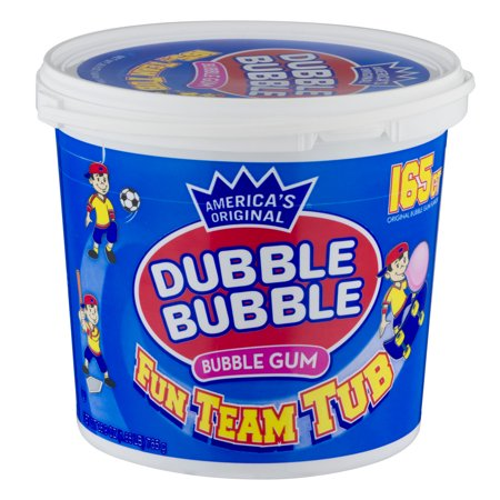 Upc 059642161235 Dubble Bubble 165 Count Tub Bubble Gum