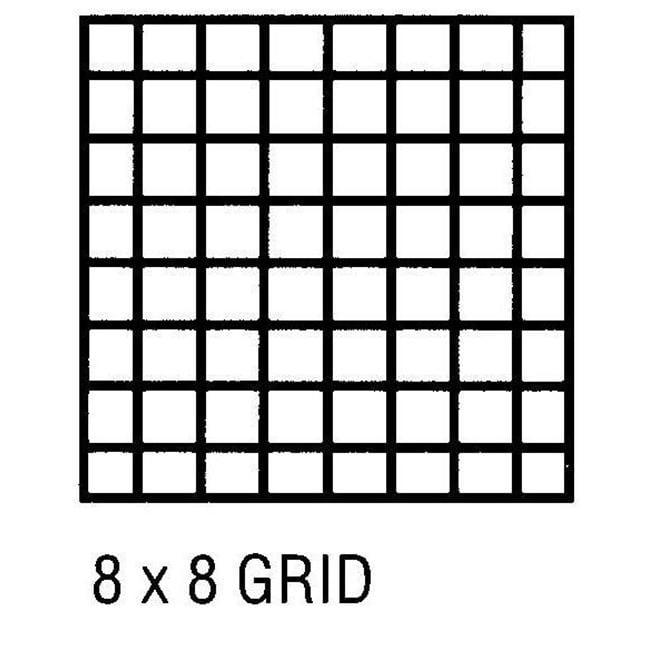 Alvin CP10202228 Grid Vellum 24x36 8x8 10sht