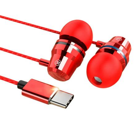 4d9d5eea80d EEEKit Wired In-Ear Type-C Earphone Earbuds Headphone Headset Stereo Super  Bass HD