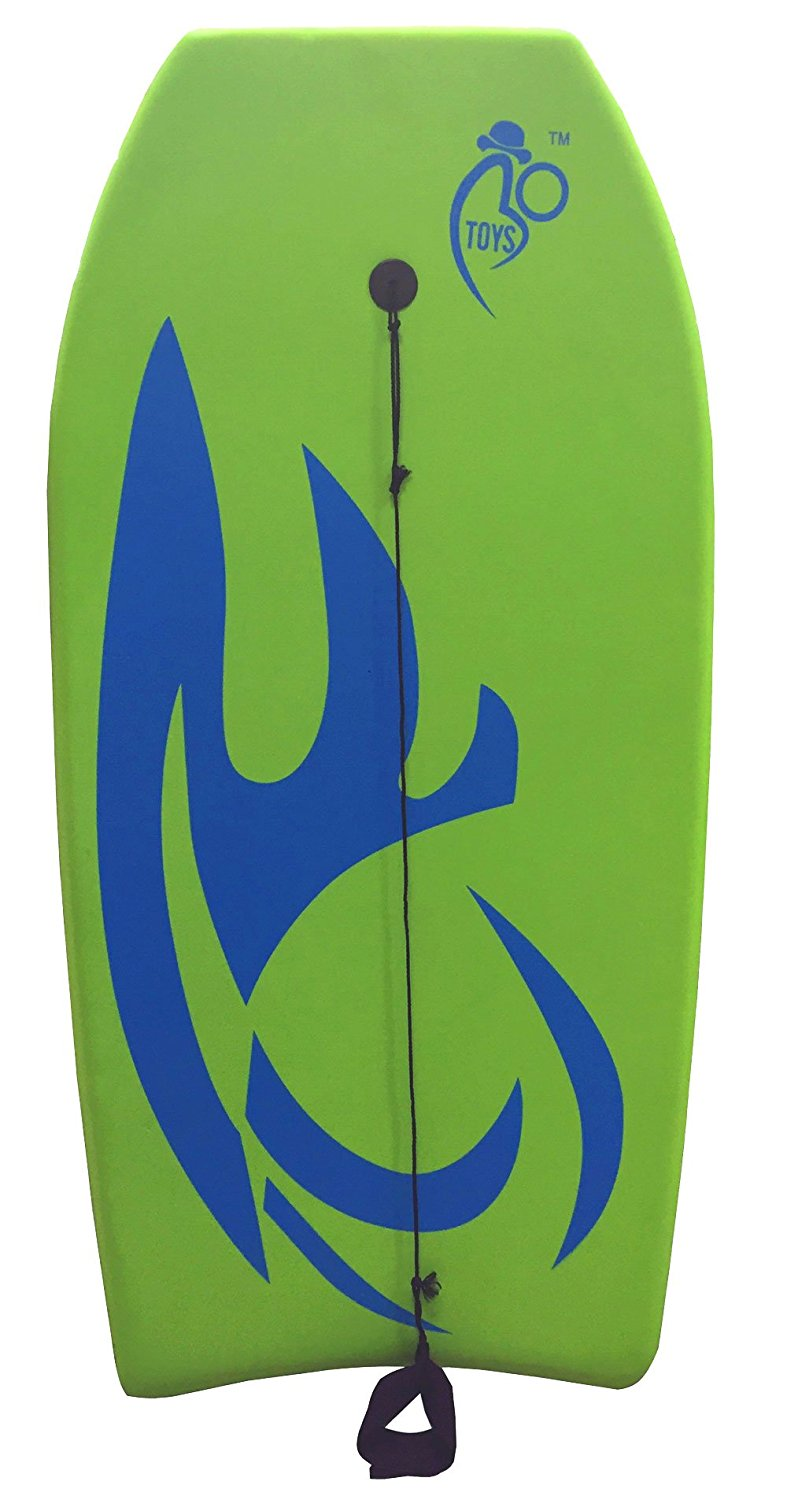 Click here to buy Bo-Toys Body Board Lightweight with EPS Core (GREEN, 41-INCH) by Bo-Toys.