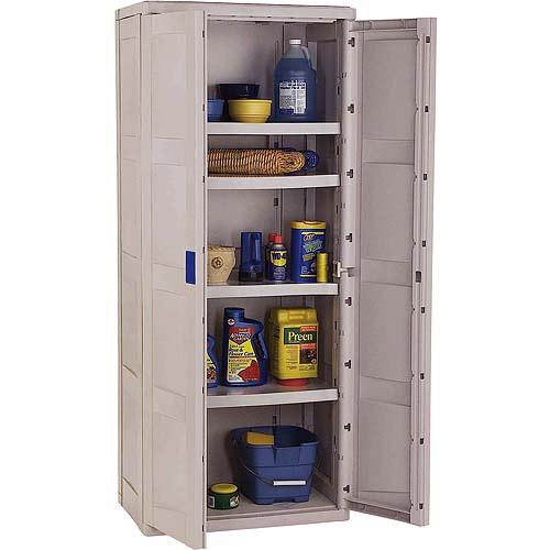 suncast storage trends utility tall storage cabinet - walmart
