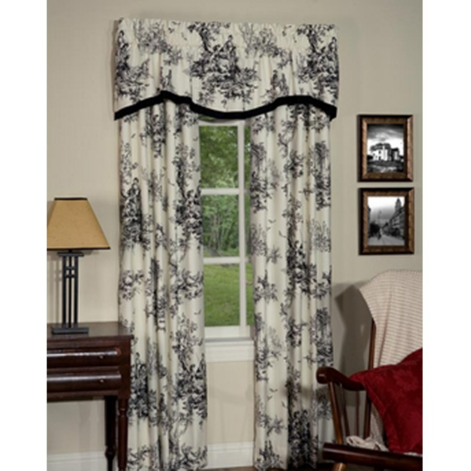 Bouvier Rod Pocket Curtain Panels By