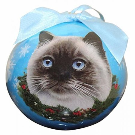 Himalayan Cat Christmas Ornament Shatter Proof Ball Easy To Personalize A Perfect Gift For Himalayan Cat