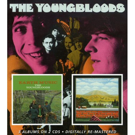 Youngbloods / Earth Music / Elephant Mountain (CD)
