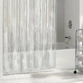 """Better Homes and Gardens Heavyweight Shower Liner Clear 70"""" x 72"""""""