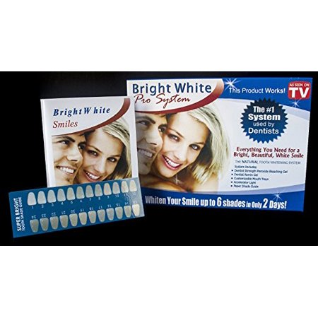 bright white smile professional strength teeth whitening kit